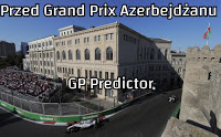 F1 Formuła 1 Grand Prix Azerbejdżanu 2018 GP Predictor