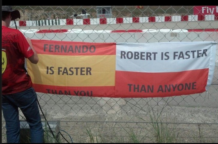 Barcelona Robert Kubica F1