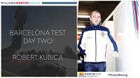 Robert Kubica Williams F1 testy Barcelona
