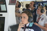 Robert Kubica Claire Williams F1 Grand Prix Austrii
