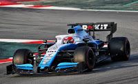 Williams Racing F1 Robert Kubica testy