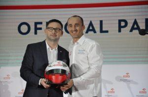 Daniel Obajtek Robert Kubica F1 Williams Orlen