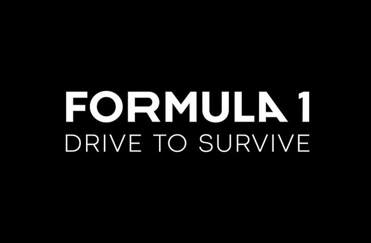 Formula 1 drive to survive logo