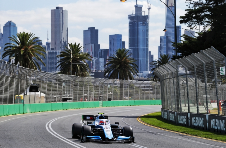 Grand Prix Australii F1 drugi trening Robert Kubica