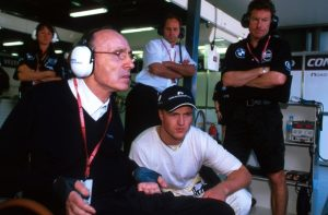 Ralf Schumacher Frank Williams