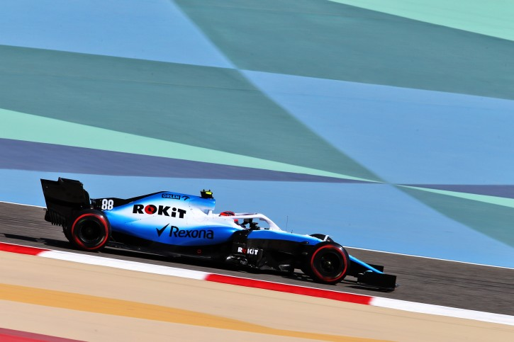 Robert Kubica Bahrajn 2019 F1 Williams