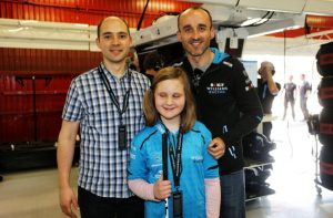 Robert Kubica Julia Barcelona F1 PKN Orlen