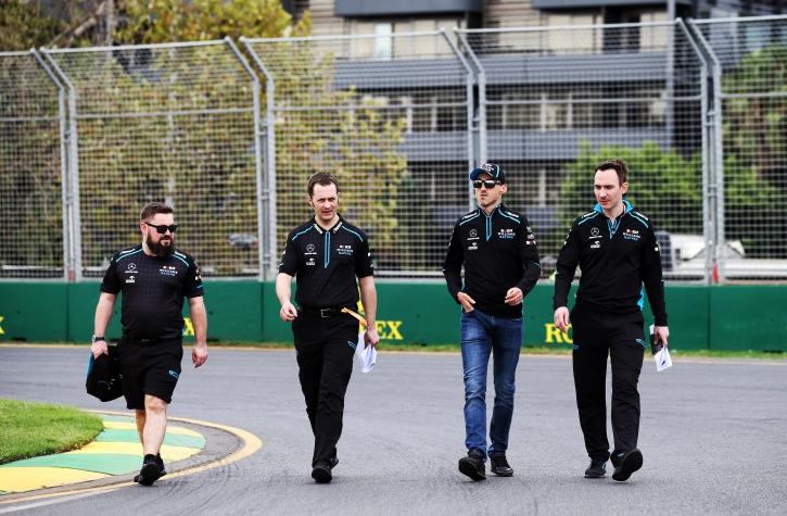 Robert Kubica track Walk Grand Prix Australii F1