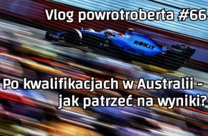 Robert Kubica vlog Grand Prix Australii F1