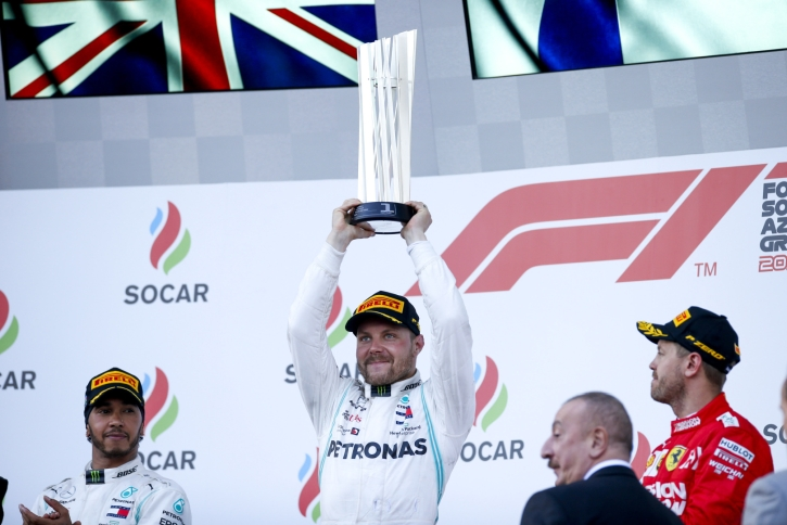 2019 Azerbaijan Grand Prix, Sunday - Wolfgang Wilhelm