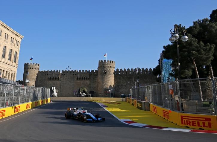 Robert Kubica F1 Baku 2019 Williams