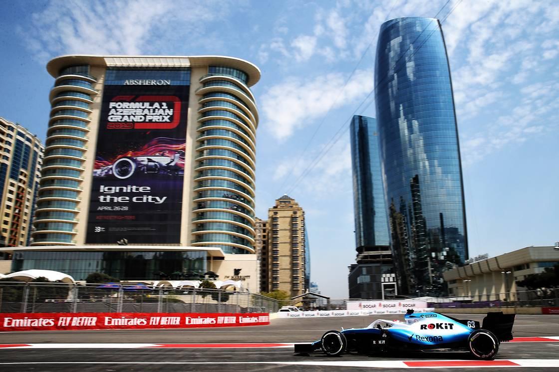 Motor Racing - Formula One World Championship - Azerbaijan Grand Prix - Practice Day - Baku, Azerbaijan