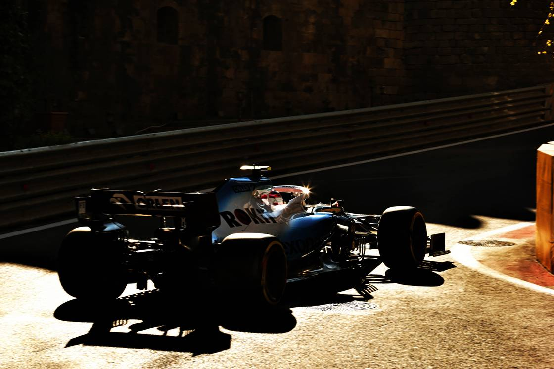 Motor Racing - Formula One World Championship - Azerbaijan Grand Prix - Practice Day - Baku, Azerbaijan