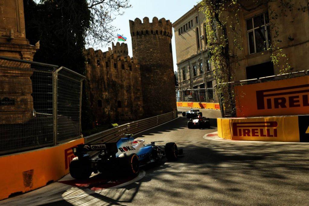 Motor Racing - Formula One World Championship - Azerbaijan Grand Prix - Race Day - Baku, Azerbaijan