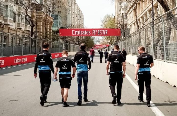 track walk kubica azerbejdżan