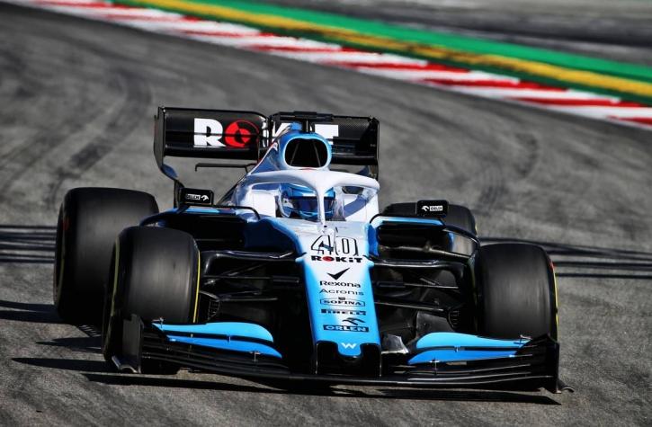 Nicholas Latifi Williams Barcelona F1