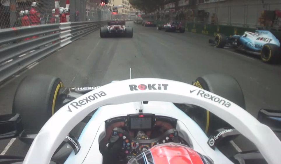 Robert Kubica onboard Monako F1