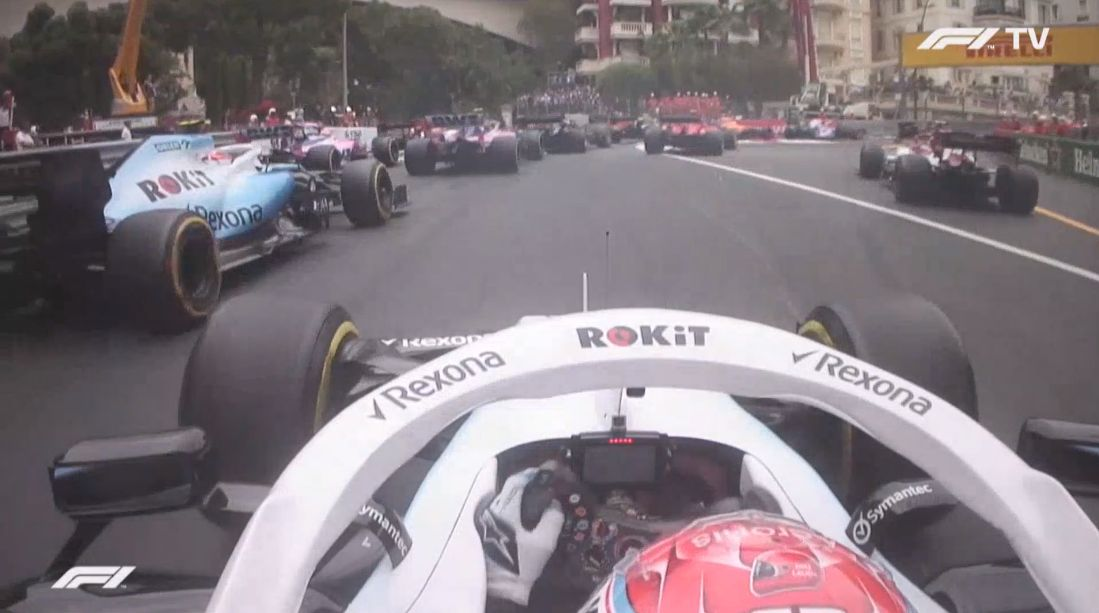 Russell Kubica onboard