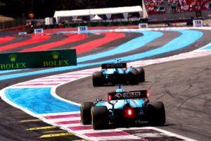 Kubica Russell F1 Grand Prix Francji