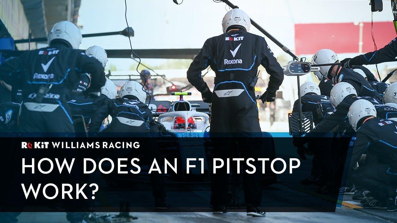 pit-stop w F1 Williams