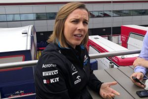 Claire Williams Silverstone