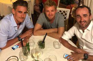 Kubica Rosberg Ceccon