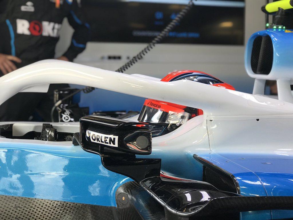 Robert Kubica Grand Prix Włoch 2019