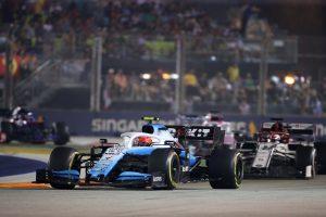 Robert Kubica Grand Prix Singapuru 2019