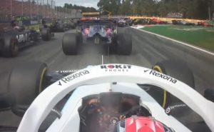 Kubica onboard Włochy F1