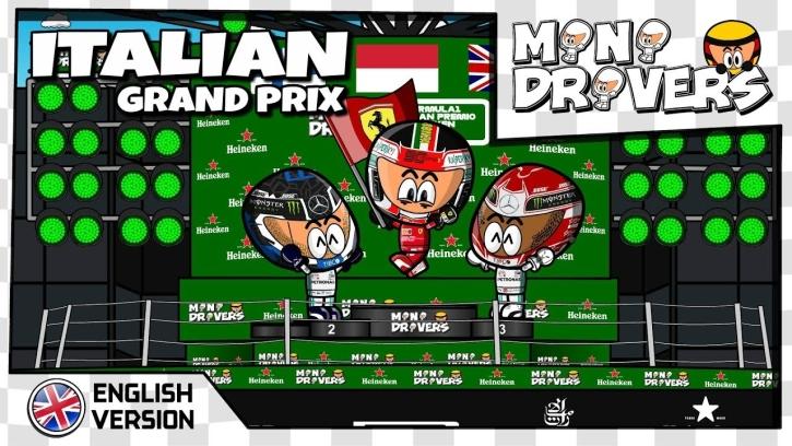 Mini drivers GP Włoch 2019