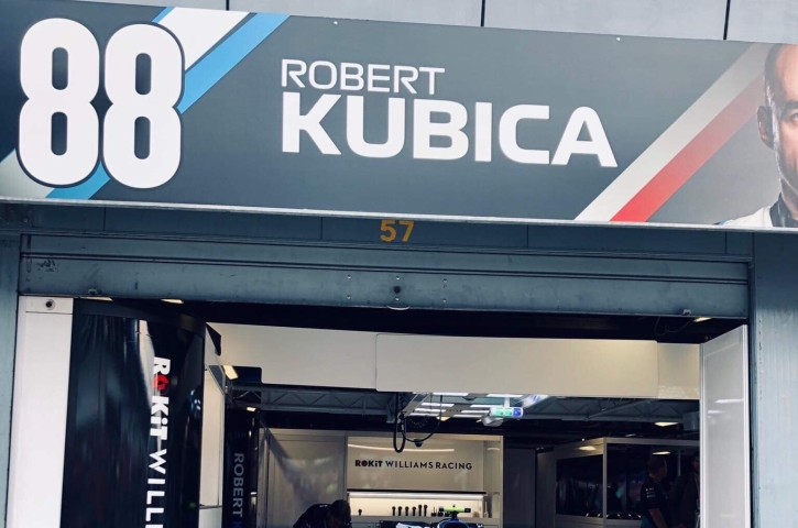 Robert Kubica Monza 2019