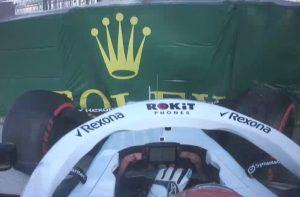onboard Russell Sochi F1