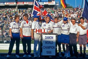 Damon Hill 1996