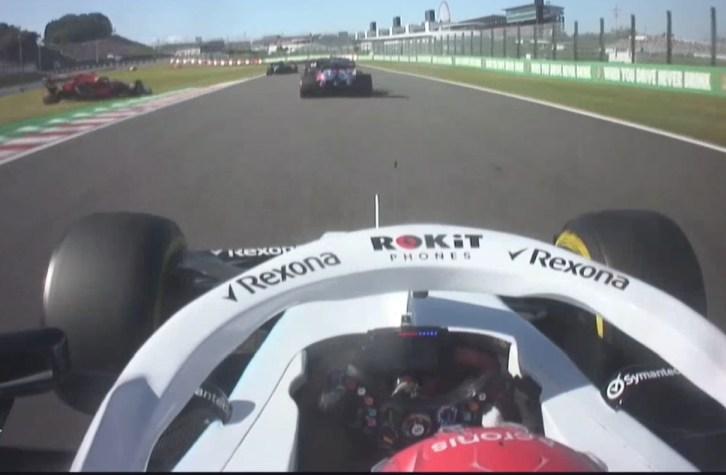 Stenogram Russell F1 Japonia