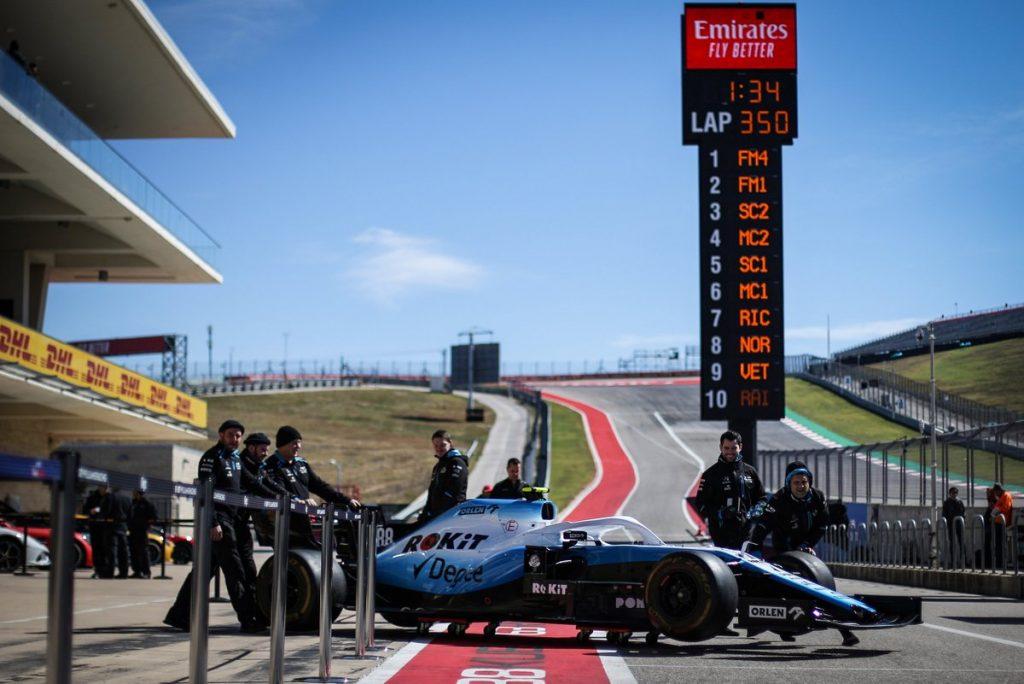 GP USA Williams 2019 F1