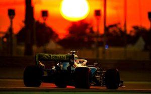Robert Kubica Grand Prix Abu zabi 2019