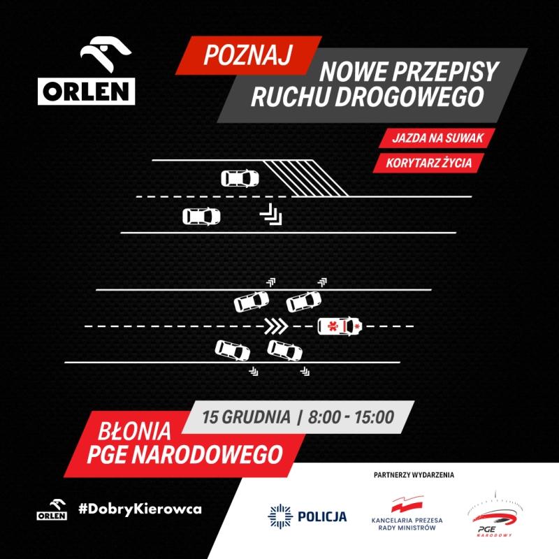 Ruch drogowy Orlen