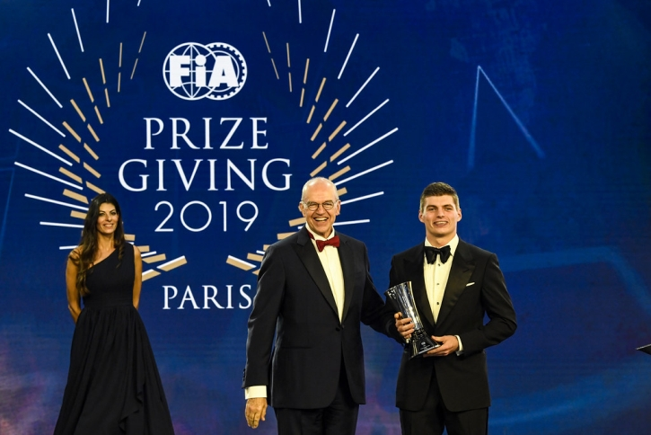AUTO - FIA PRIZE GIVING - PARIS 2019