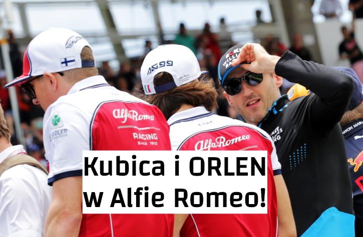 Oficjalka Kubica Alfa Romeo
