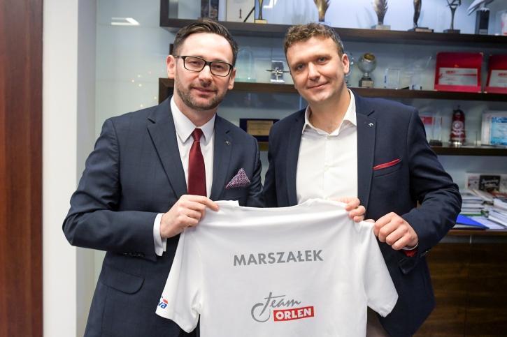 Bartosz Marszałek w Orlen Team