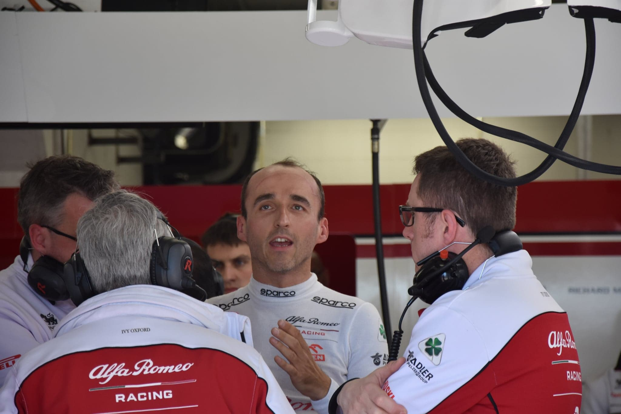 Robert Kubica testy Barcelona Alfa 2020