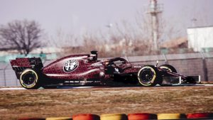 Alfa Romeo malowanie testowe