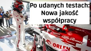 vlog Kubica Alfa testy F1