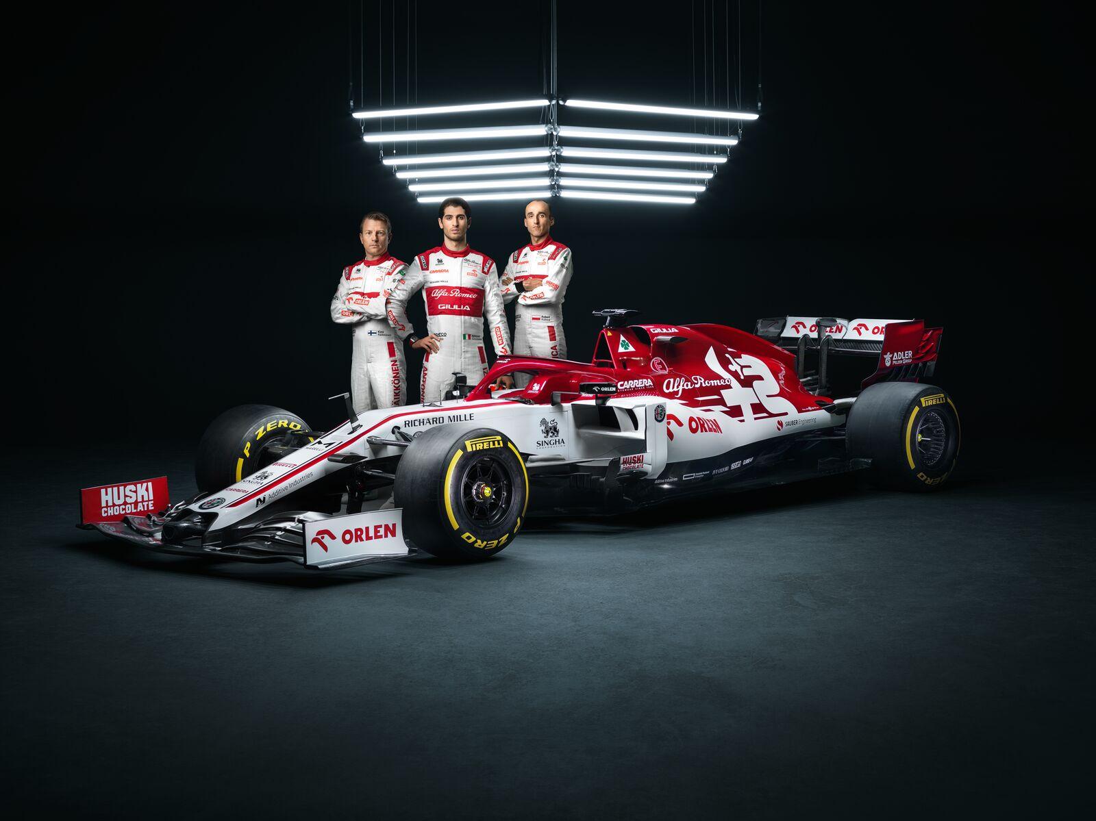Prezentacja Alfa Romeo Racing Orlen
