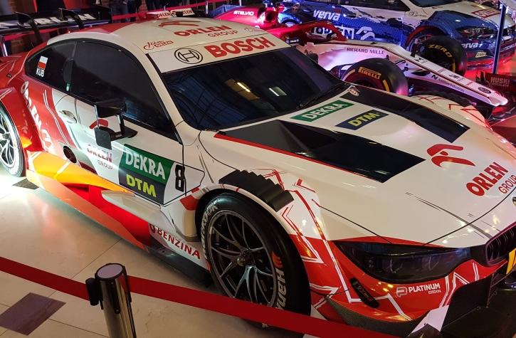 Robert Kubica auto DTM