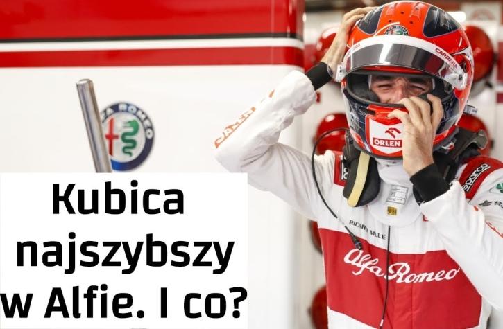 miniatura vlog Kubica testy Barcelona 2020