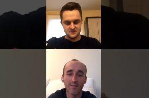Kubica Giemza Orlen Team rozmowa