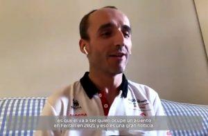 Kubica Carlos Sainz Ferrari