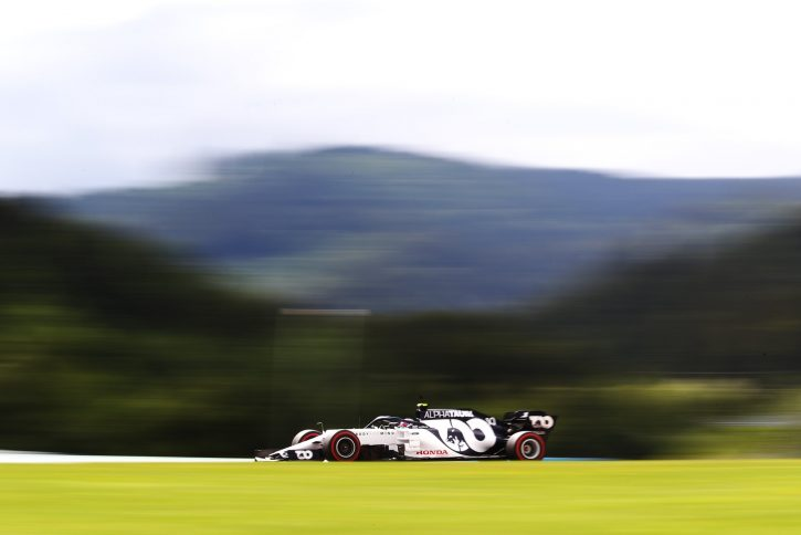Alpha Tauri Grand Prix Austrii 2020