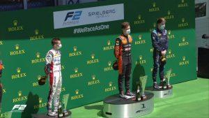 F2 podium austira 2020